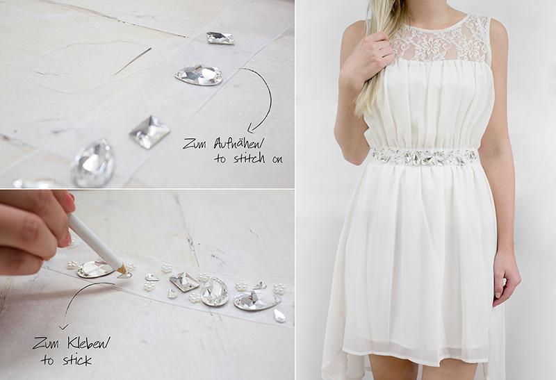 Do it Yourself Set | DIY Gürtel für Selbermacher von gogoritas® made with Swarovski Elements, Hochzeit