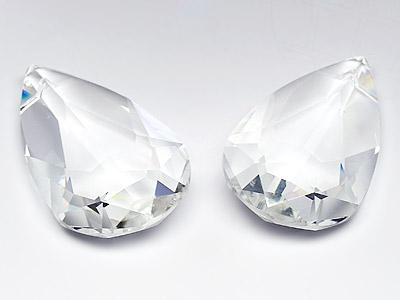 Anhänger von Swarovski Elements  34.0mm x 20.0mm (Crystal), Restposten, 1 Stück
