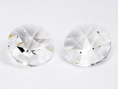Anhänger von Swarovski Elements rund 12.0mm (Crystal), 12 Stück
