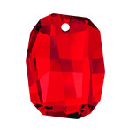 "Pendant of Swarovski Elements ""Graphic"" 28.0mm (Light Siam), REMAINING STOCK"