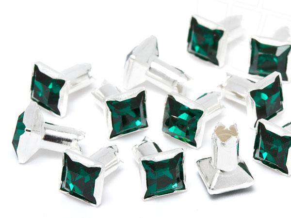 chaton-nieten-quadrat-von-swarovski-elements-4mm-emerald-silber-4mm-schaft-500-stuck