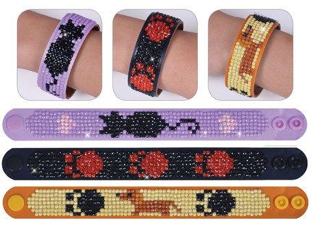 bastelset-armband-katzen-von-diamond-dotz-mit-strasssteinen-3-armbander-strasssteine-strassp