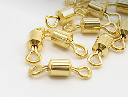 Kettenverbinder 14mm (gold)