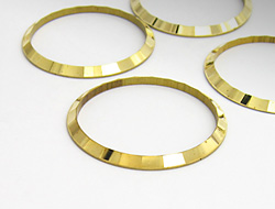 Facettenring 30mm (gold)