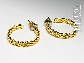 Ear studs (gold)