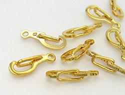 Karabinerverschluß 14mm (gold)
