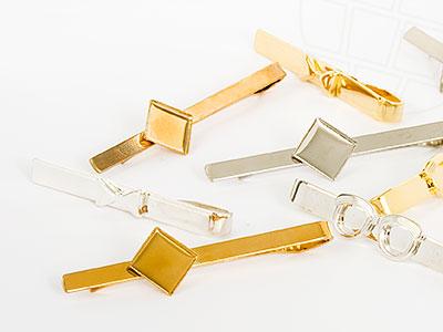 krawattenhalter-mix-50mm-gold-silber-10-stuck
