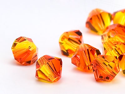 glasperlen-zum-auffadeln-von-swarovski-elements-doppelkegel-6mm-fire-opal-48-stuck