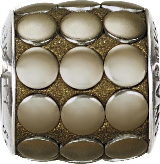 gro-lochperlen-european-beads-von-swarovski-elements-becharmed-pave-9-5mm-bronze-polished-edel