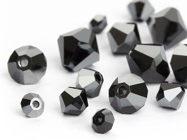 glasperlen-zum-auffadeln-von-swarovski-elements-doppelkegel-jet-hematite-multi-size-mix-3960-stuc
