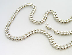 Halskette (versilbert)