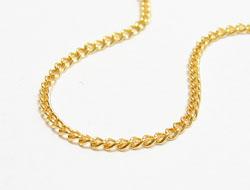 Halskette mit Federringverschluss (metall/gold)