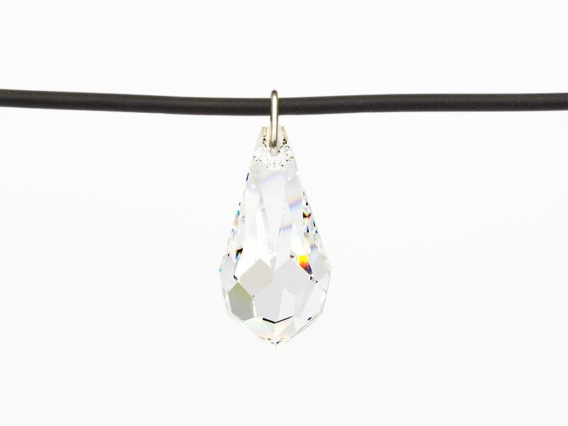 "Necklace Universal with an original Swarovski Elements ""Drop"" pendant (Crystal)"