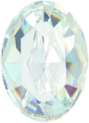 Gemstones of Swarovski Elements 8x6mm (Crystal), REMAINING STOCK