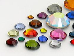 Rhinestones No-Hotfix of Star Bright |  SS 8 - SS52 (2.4mm - 12.8mm), Color Mega Multi Size Mix