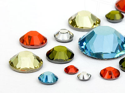 Strasssteine No-Hotfix von Swarovski Elements   (Summer Mix Multi Size Mix)