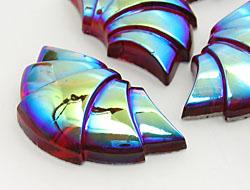 Gemstones 22x38mm (Light Siam AB)