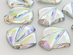 Schmucksteine 28x30mm (Crystal AB)