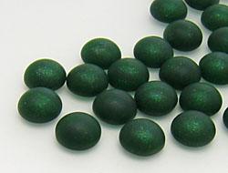 cabochons-glasnuggets-schmucksteine-rund-6-0mm-smoked-emerald-frosted-100-stuck