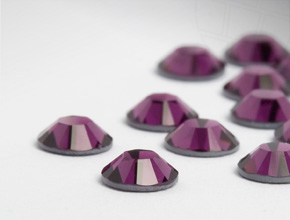 Strasssteine Hotfix von Swarovski Elements | SS16 (3.9mm), Amethyst