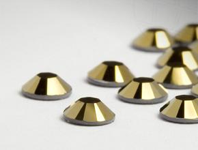 Rhinestones No-Hotfix of Swarovski Elements | SS12 (3.1mm), Crystal-Dorado, REMAINING STOCK