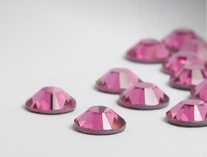 Rhinestones No-Hotfix of Swarovski Elements | SS 7 (2.2mm), Rosé, REMAINING STOCK